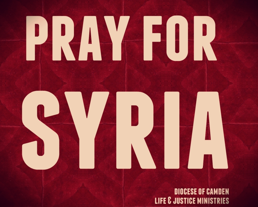 pray for syria