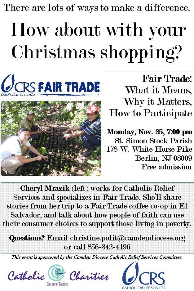 crs fair trade event