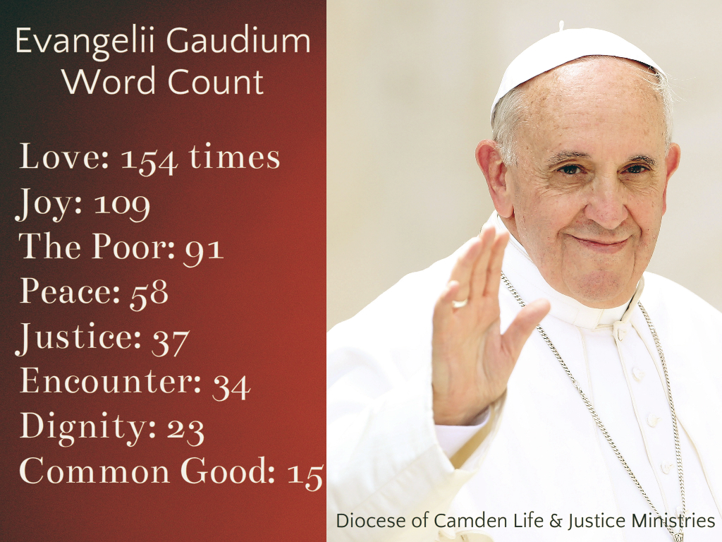 Pope Francis Quotes On Love Pope Francis' Evangelii Gaudium Work For Justice At Heart Of