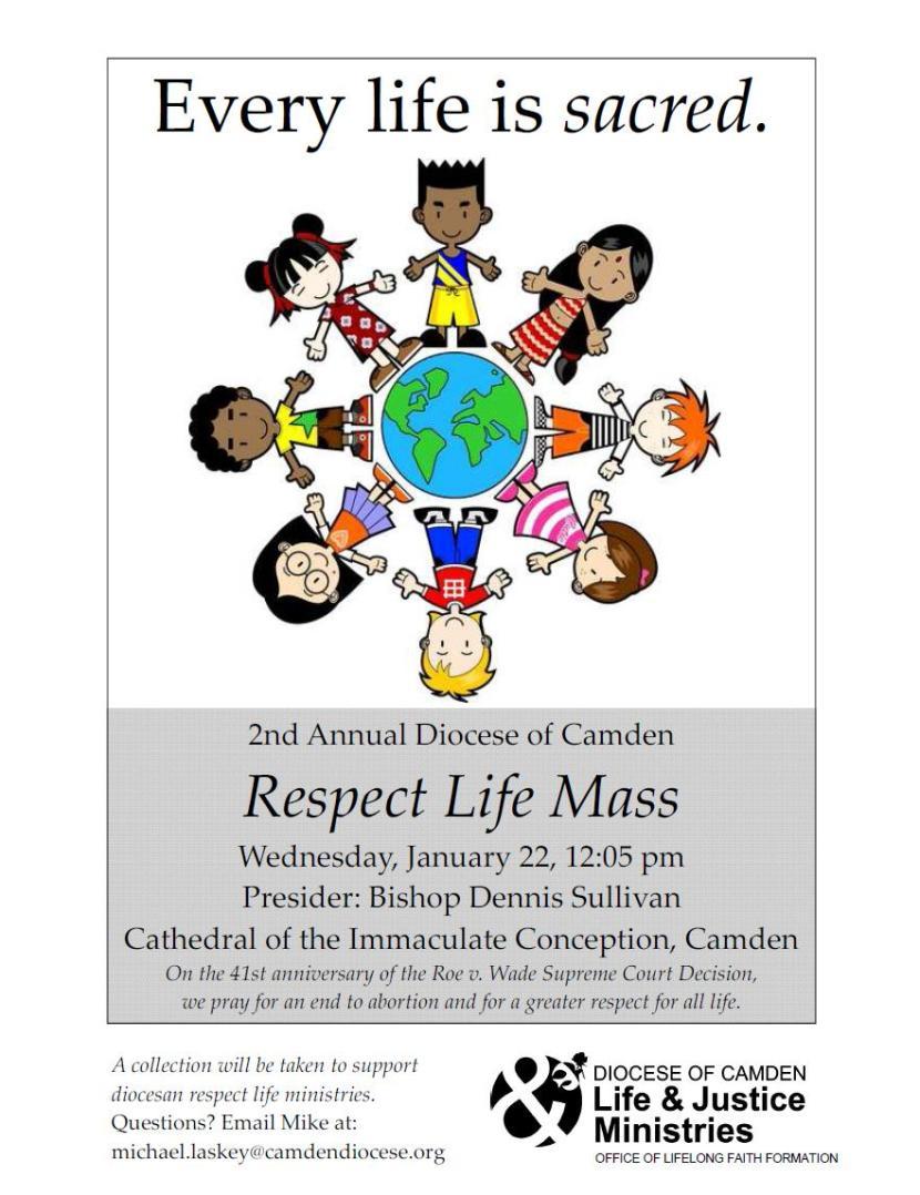 respect life mass 2014