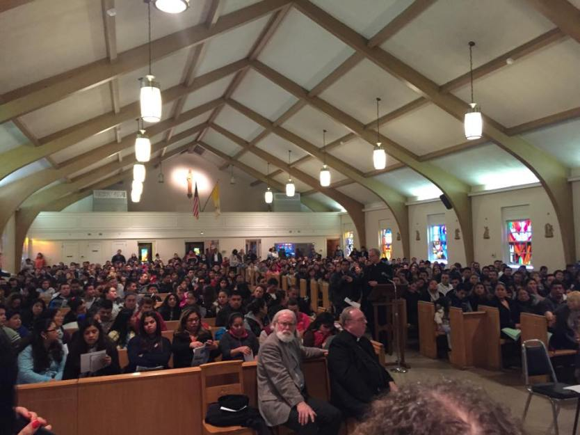 Immigration Executive Action information session at the Parish of the Holy Cross in Bridgeton. (Photo: Jeff DeCristofaro)